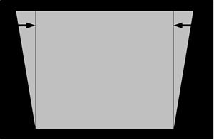 台形補正図